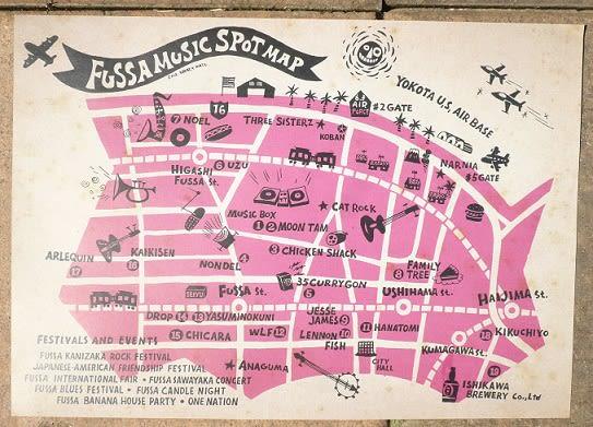 Fussa_music_spot_map