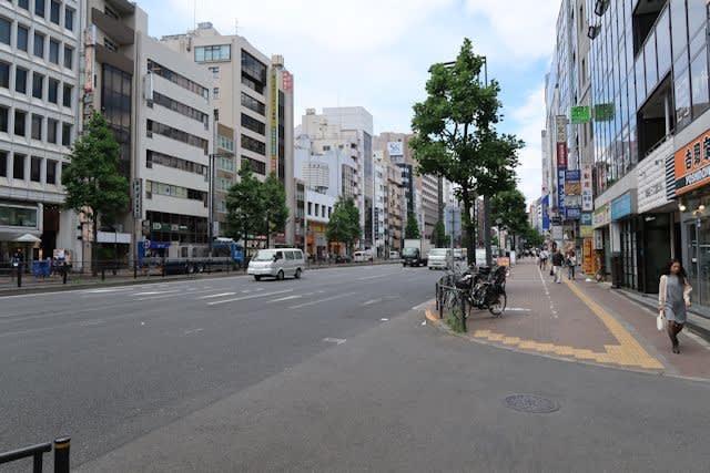 東京都四谷の街並み