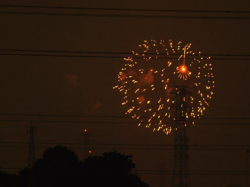 07月24日 花火を撮った