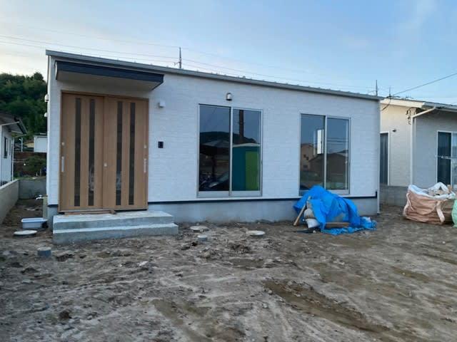 真備町のI様邸の平屋です | 倉敷市で新築一戸建てを建てるならサンブランドハウス