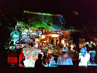 嵐山花灯路に来ています。