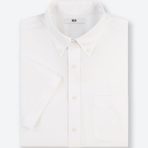 ユニクロ ボタン ダウン シャツ