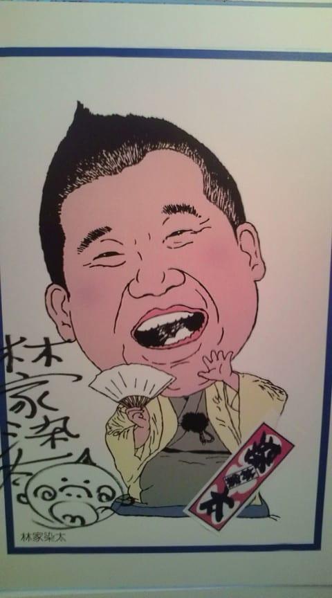 似顔絵in繁昌亭