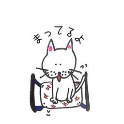 猫のイラスト Taiyamanekoと申します