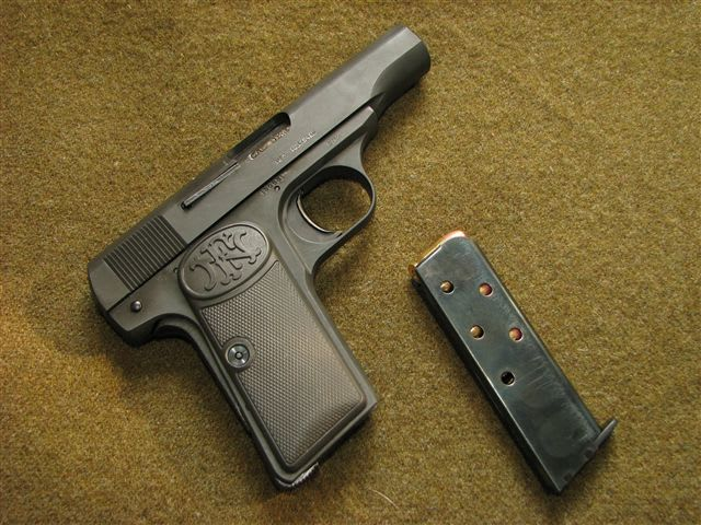 ブローニング M1910 - オー、捨てないと!