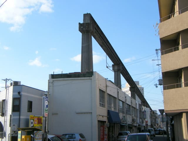 姫路モノレール跡