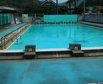 プールの水質検査