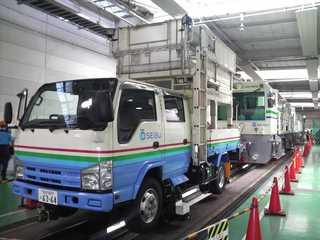 西武・電車フェスタ2010 in 武蔵丘車両検修場