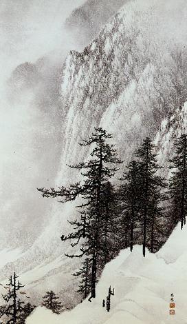 雪なき冬を送る ― 日本の冬景色選 ― (3) - てつりう美術随想録