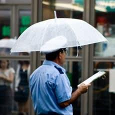 「雨が降らないと困る職業って何? ←この記」の質問画像