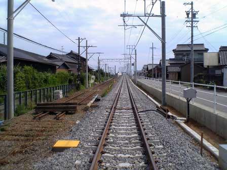 名鉄碧海桜井駅高架化工事 08/06/24(その1) - まい・すぺーす