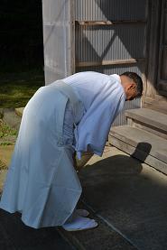 拝礼の仕方-立ってやる拝礼 - 田舎神職の人生-自然の中で生きる