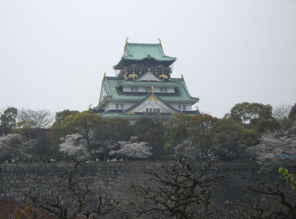 大阪城の桜〔1〕