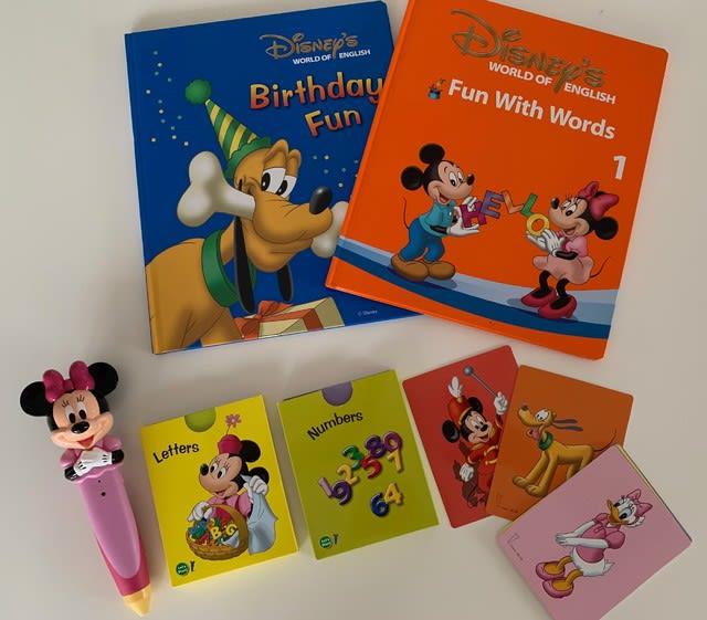 ディズニー英語システムのミッキーマジックペン