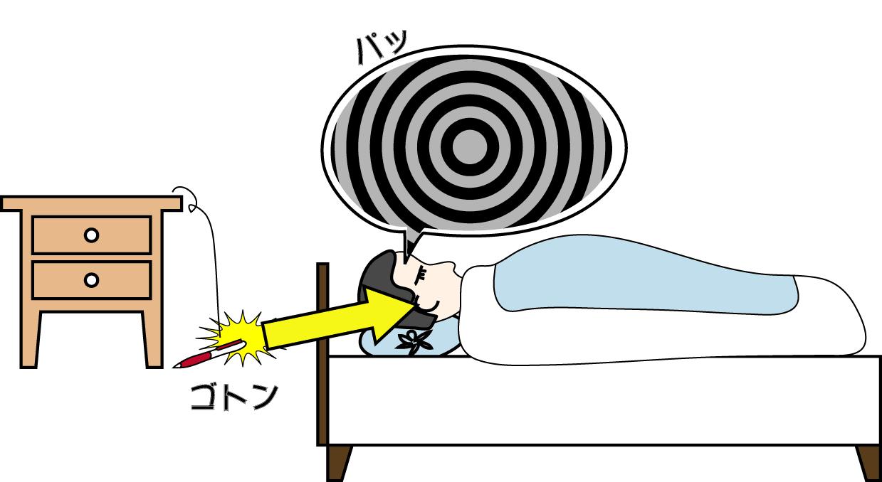 起き 時 体 ビクッ が なる いる と て