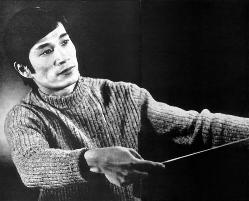 飯守泰次郎、5年ぶりに帰国(1970...