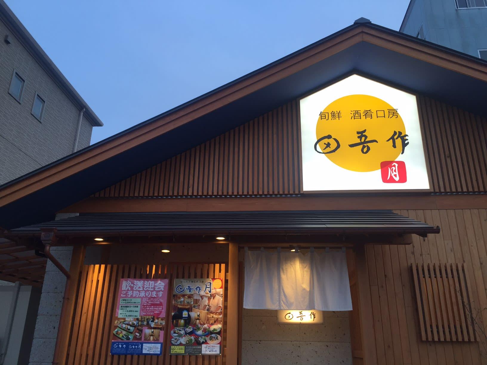 田吾作 月 - 水戸梅日記