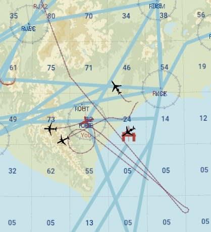 X-Plane11の航空管制(ATC)はやっぱりダメ - フライトシミュレーターの世界