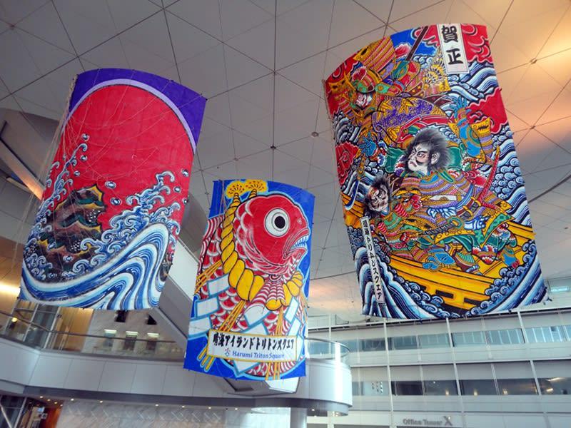 12月31日 晴海トリトンスクエアの凧