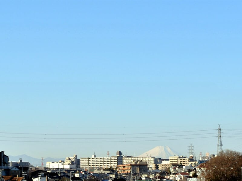 01月13日 朝霞方向