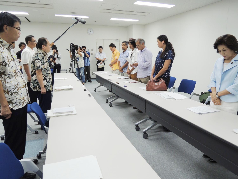 高江・住民の会、うりずんの会(...