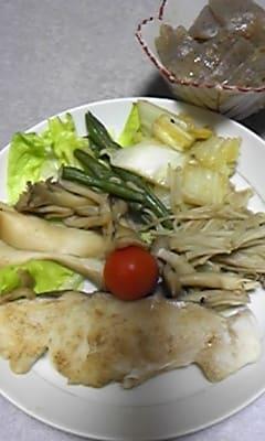 鱈と野菜の蒸し煮