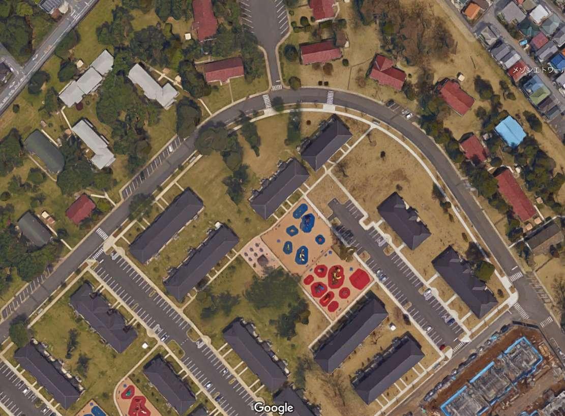 岩国を乗っ取る米軍 基地の外にも米兵用住宅
