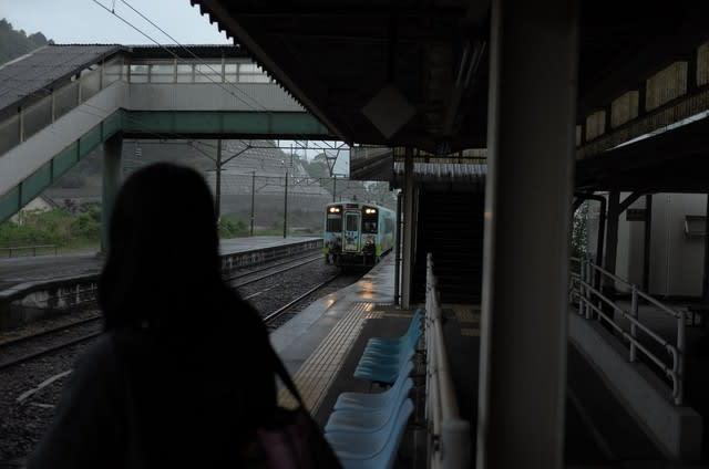 佐敷駅から - 野坂屋旅館