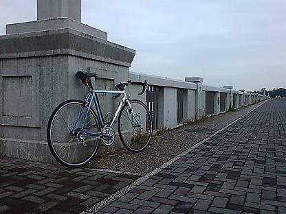 自転車 タッチアップ