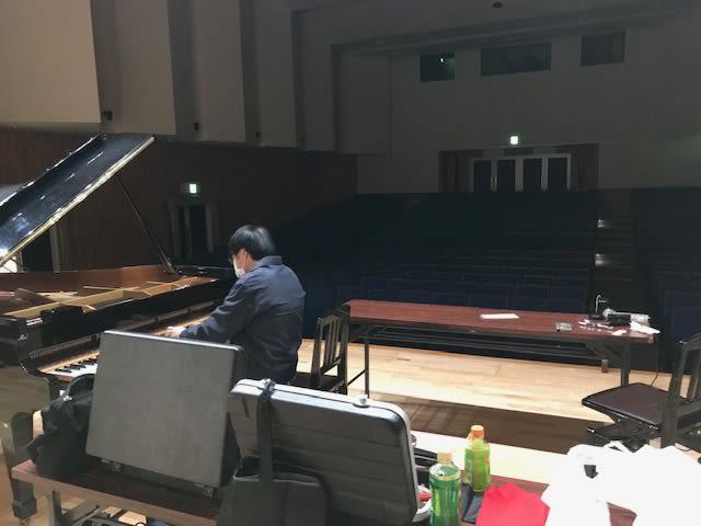 近所のホールのピアノ事情 ホール事情 その1