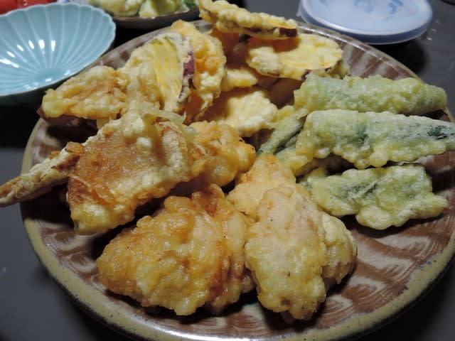 竹の子 天ぷら