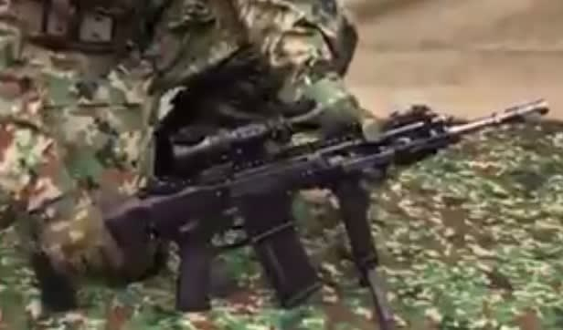 陸上自衛隊,新小銃,新拳銃,陸自,新型小銃,20式小銃,フォアグリップ,電動ガン,水陸機動団,戦車戦,戦車,装甲車,AFV,防衛,乗り物, パイポット,拳銃,GUN,,