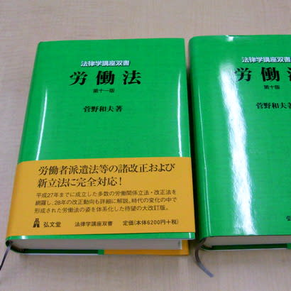 菅野和夫「労働法」第11版 - 社...