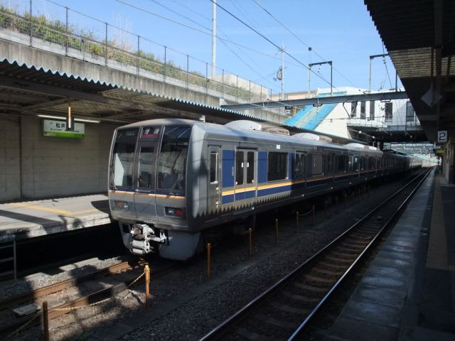 JR西日本207系松井山手折返し