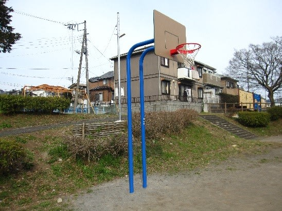 公園 ゴール 近く が バスケット の ある