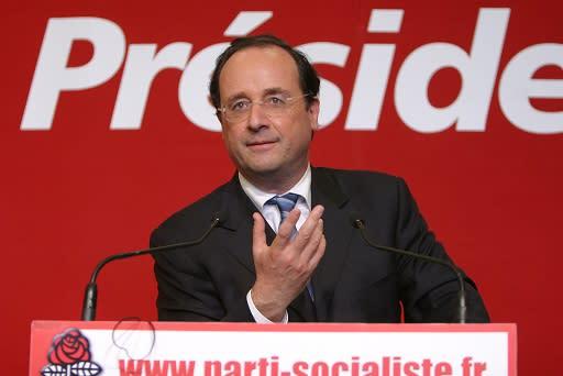 来年5月フランス社会党統一候補...