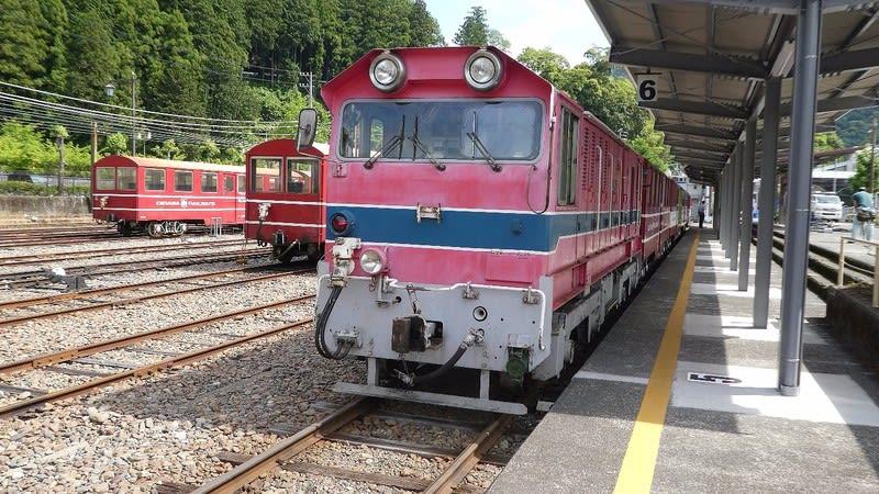 東濃鉄道DC182形ディーゼル機関車