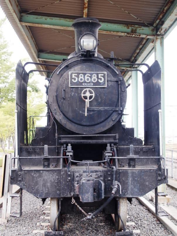 国鉄蒸気機関車8620形 静態保存5...