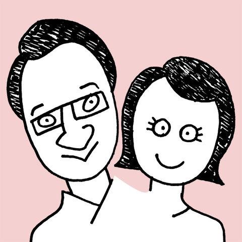 春風亭昇太師匠の似顔絵イラスト画像