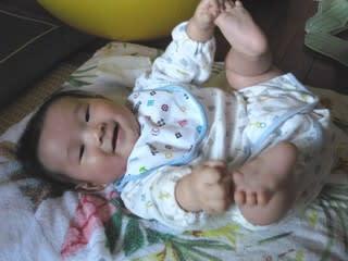 生後5ヶ月目の赤ちゃん ol主婦の小さな幸せ