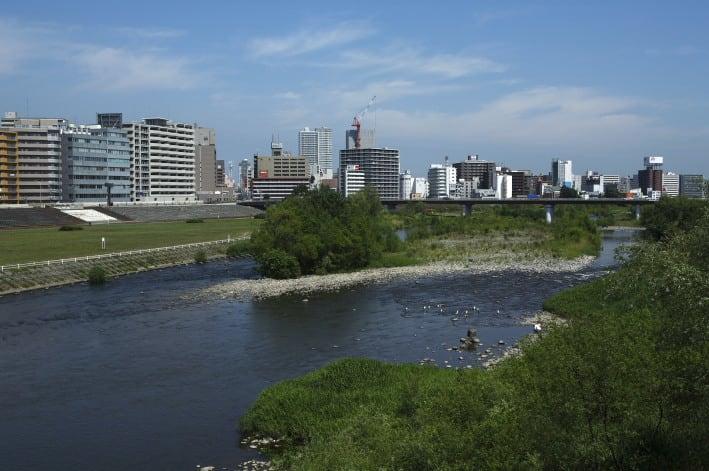 北海道の川旅