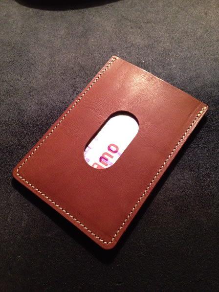 【新品】無印良品 パスケース付二つ折り財布 黒 イタリア産ヌメ革財布