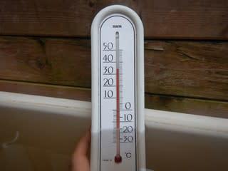 気温変化が!