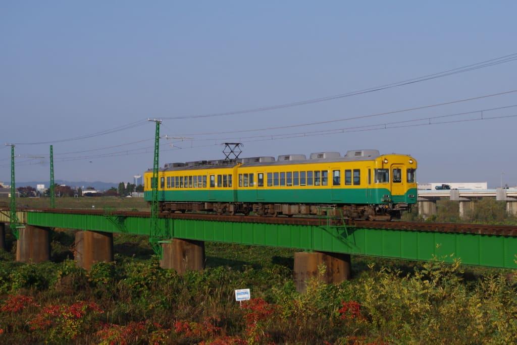 富山地方鉄道の旧京阪3000系