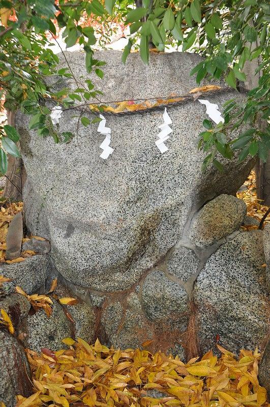 葛城一言主神社の亀石