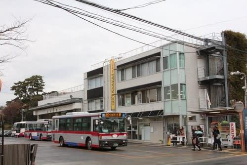東急バス弦巻営業所で休憩する「...