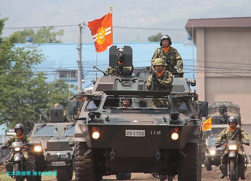 第11旅団創設3周年 真駒内駐屯地...