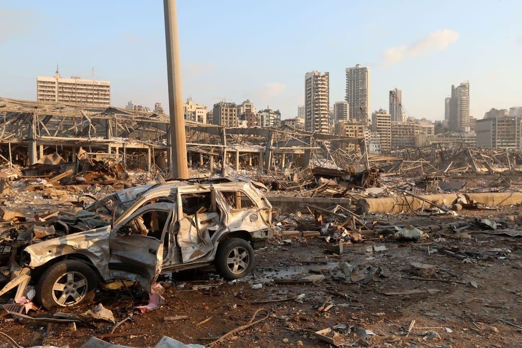 レバノン 爆発 ゴーン