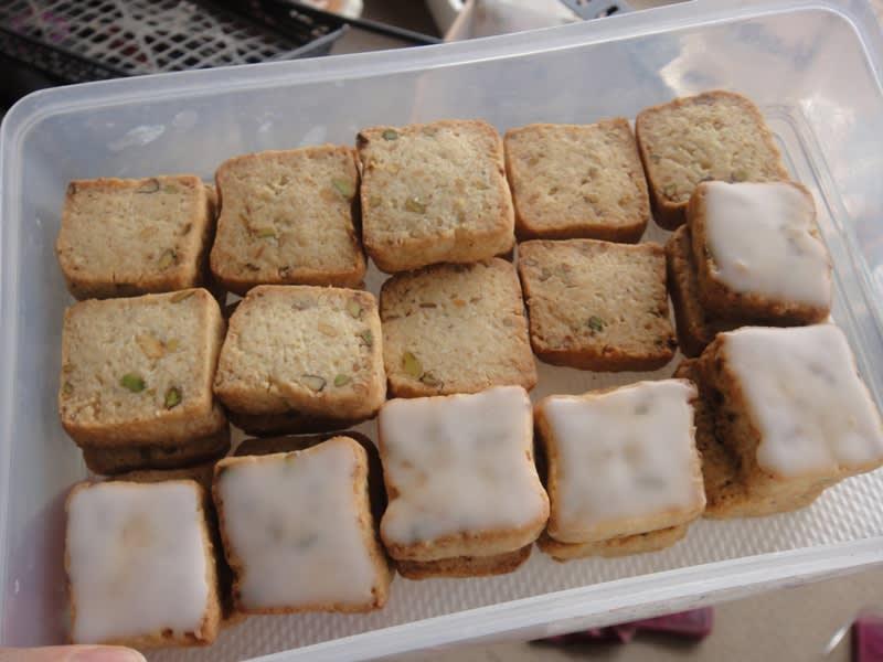 2011/04/17作バクラバ入りクッキー
