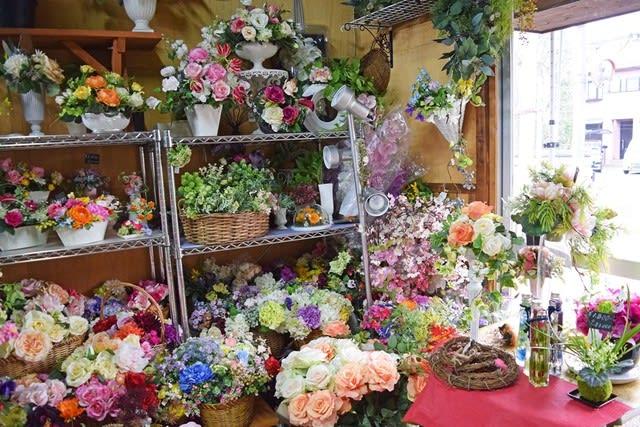 造花ココーフラワー横浜 フェイクフラワー 造花 店舗画像
